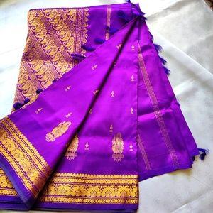 Kancheepuram silk (pattu)saree - Royal